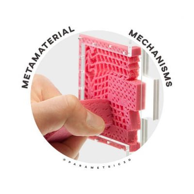 Metamaterial Mechanisms