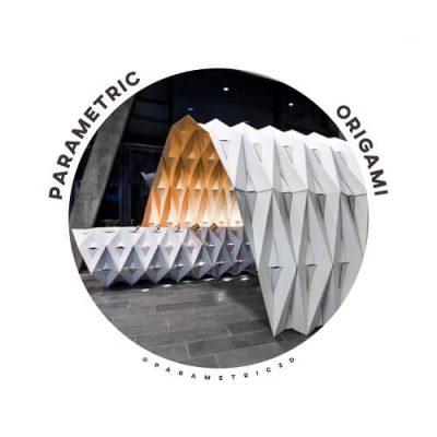 Parametric Origami Adaptable temporary buildings