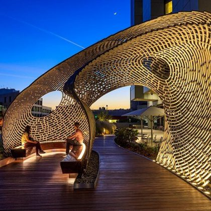 Healing Pavilion Parametric Design