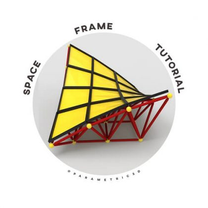 Space Frame Grasshopper3d Tutorial