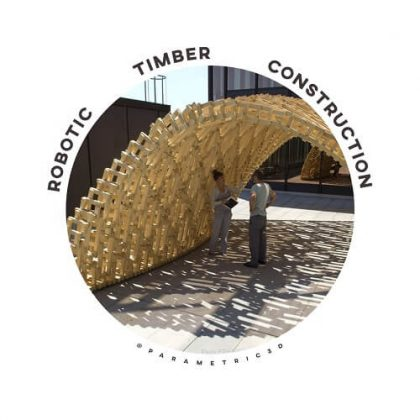 Robotic Timber Construction