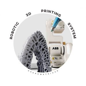 Developing Robotic 3D Printing System for Informed Material Deposition