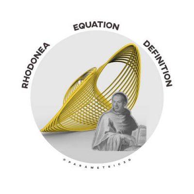 Rhodonea Equation Grasshopper3d Definition