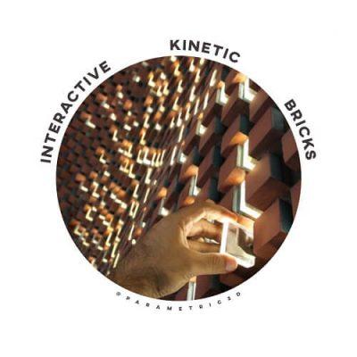 Magnet-based Interactive Kinetic Bricks