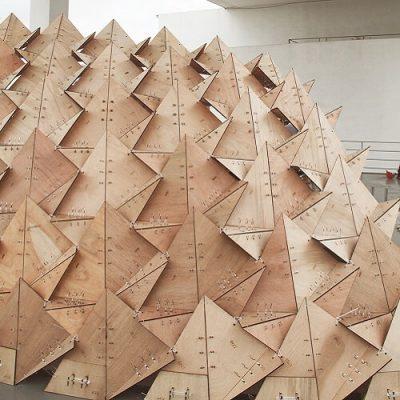 SZU Pavilion Parametric Design with Grasshopper3d