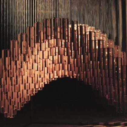 Helio Curve Kinetic Sculpture