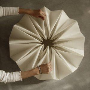Origami kinetic Table