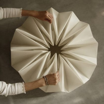 Origami kinetic Table