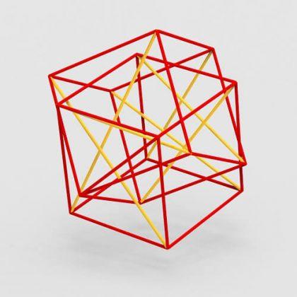 hypercube (tesseract) grasshopper3d Definition