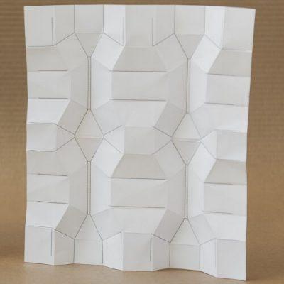 Flatworm Grasshopper3d Plugin for generating rigidly foldable quadrilateral meshes RFQM and Miura Ori fold