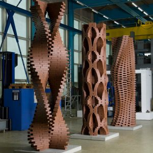 The Programmed Column Parametric Design and Digital Fabrication