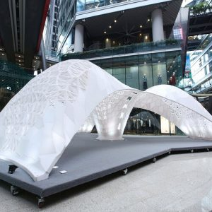 LCD's VULCAN Pavilion Awarded Guinness World Record for Largest 3D Printed Structure