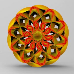 Star Wheel Grasshopper3d Definition 3D Pattern