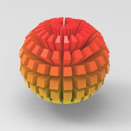 Pixelized Sphere Grasshopper3d Definition Pufferfish Plugin