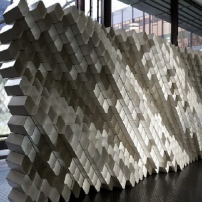 Robotic Fabrication Of Acoustic Brick Walls