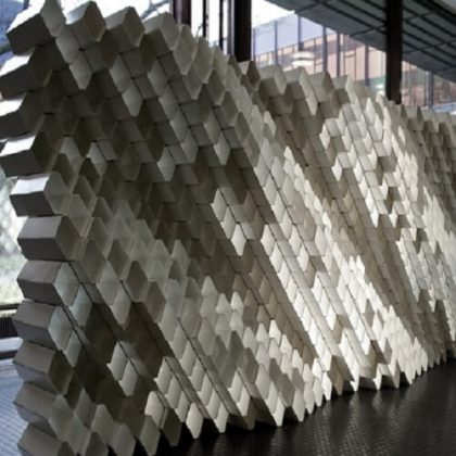 Robotic Fabrication Of Acoustic Brick Walls