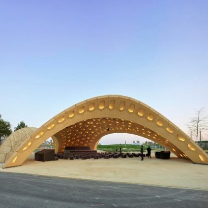 BUGA Wood Pavilion Digital Fabrication