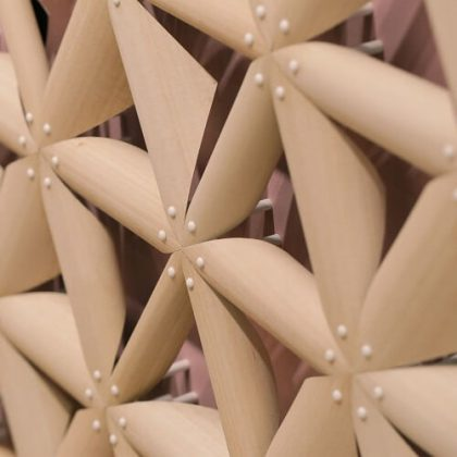 Pinecone-Inspired Material that Reacts to Moisture