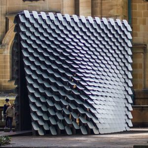 80Hz interactive sound pavilion
