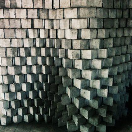 Adaptive Fabrication Cellular Concrete Casting Using Digital Moulds