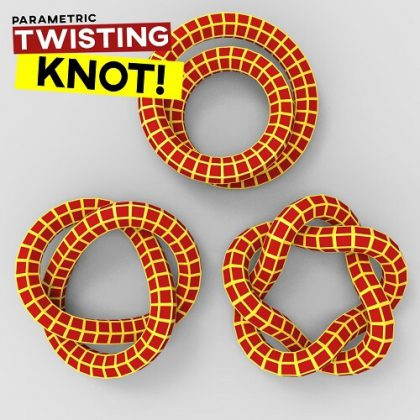Twisted Knot Lunchbox Weaverbird Plugin Grasshopper3d Definition