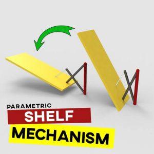 Shelf Mechanism Grasshopper3d Tutorial Kinetic Architecture