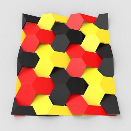 Seamless Hexagon Pattern Grasshopper3d Definition 3D Pattern Algorithm