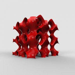 3D Sine Iso Surface AXOLOTL Plugin Grasshopper3d Definition