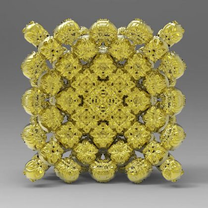 Recursive Ornamental Mesh Grasshopper3d Definition Anemone Weaverbird Plugin