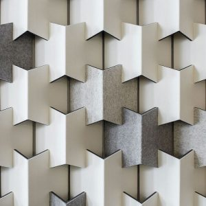 Filzfelt Scale acoustic wall panel