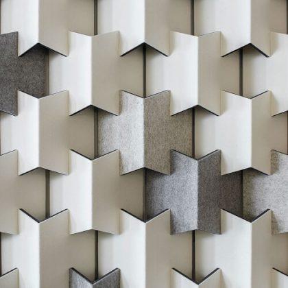 Filzfelt Scale acoustic wall panel