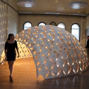 Exoskeleton Pavilion Parametric Design Digital Fabrication
