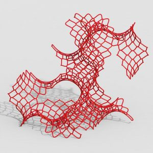 Net On Surface Grasshopper3d Definition Pufferfish dendro plugin