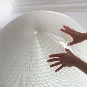urchin softlight shape shifting paper lamp