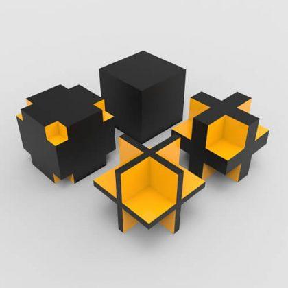 Boolean Box Grasshopper3d Tutorial 3D Pattern