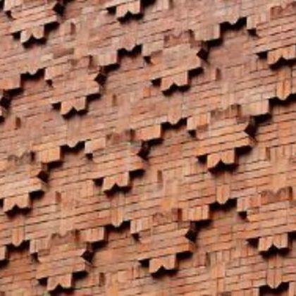 Integrated Generative Technique for Interactive Design of Brickworks