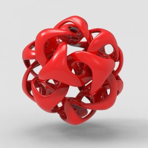 Wave on Icosahedron Grasshopper3d Definition Weaverbird Plugin