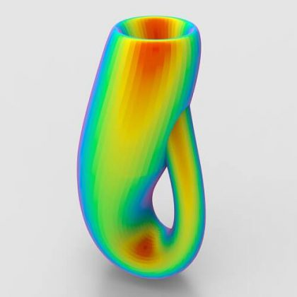 Twisted Klein Bottle Grasshopper3d Definition Mesh Tools Parakeet Plugin