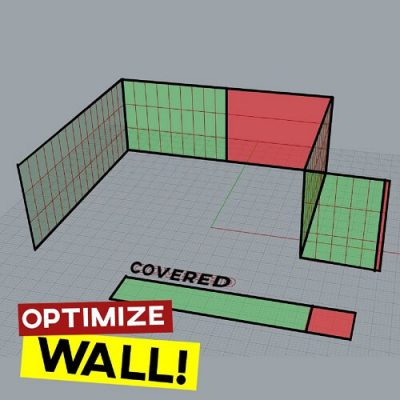 Optimize Wall Covering Grasshopper Galapagos Tutorial