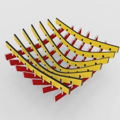 Waffle Bowl Grasshopper3d Tutorial Digital Fabrication