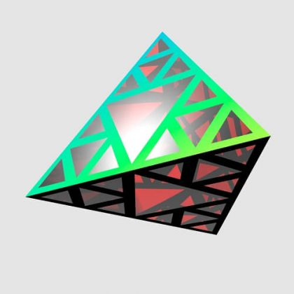 Sierpinski Pyramid Grasshopper3d Tutorial Weaverbird Lunchbox Plugin