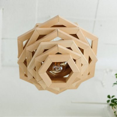 Geometric Hanging Light