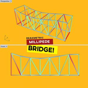 Millipede Bridge Grasshopper3d Tutorial