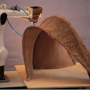 Digital fabrication phasing for monolithic shells