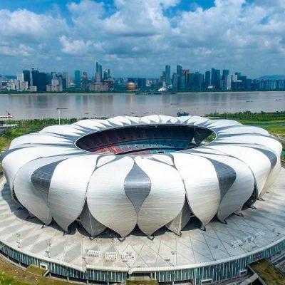 Hangzhou Tennis Center Parametric Design