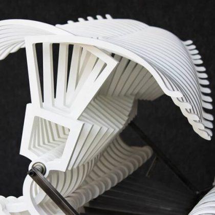 Bussola kinetic sculpture