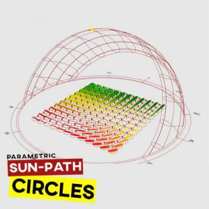 Sun Path Circles Grasshopper3d Definition Ladybug Plugin