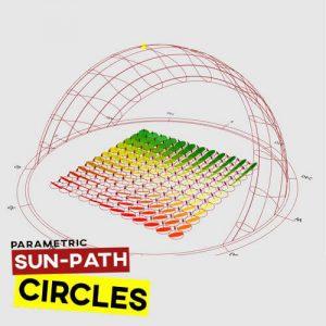 Sun Path Circles Grasshopper3d Definition Ladybug Plugin