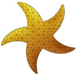 Starfish Grasshopper3d Plugin 2D Pattern