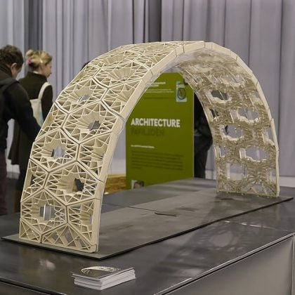 3D Printed Ceramic Vault Shading Systems